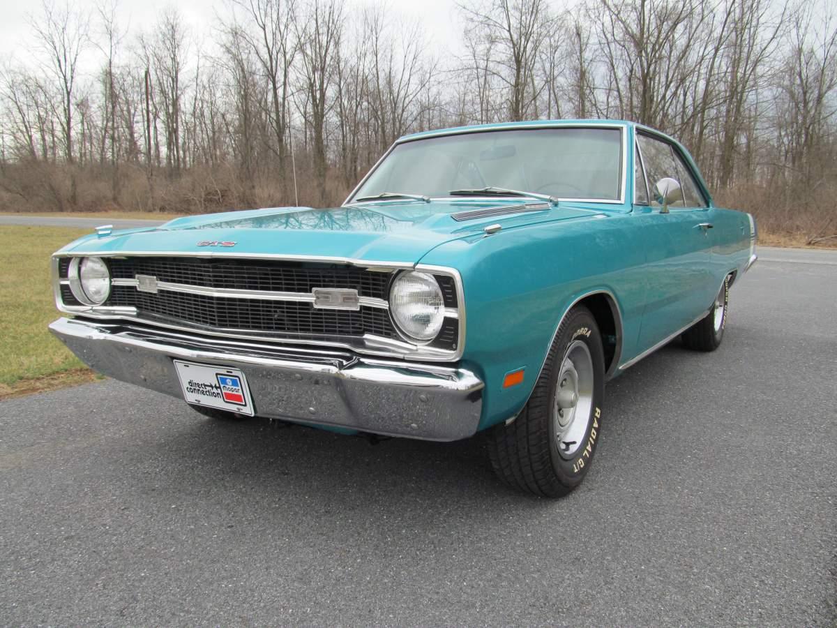 Purchase Used 1969 Dodge Dart Gts 340 60 Pics Video 97k Org